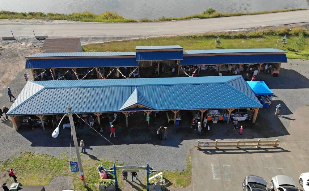 Pugwash Farmers' Market Arial View