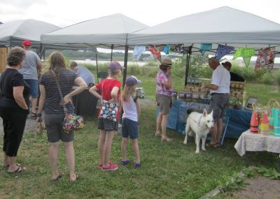 Pugwash Farmers' Market Square Saturday Shopping