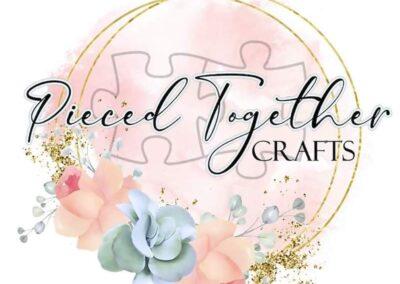 pieced together crafts logo